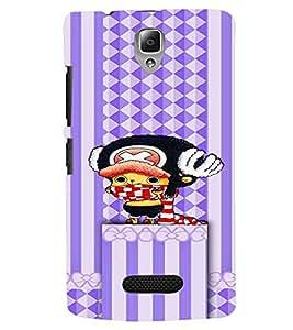 Fuson Premium Super Mario Printed Hard Plastic Back Case Cover for Lenovo A2010