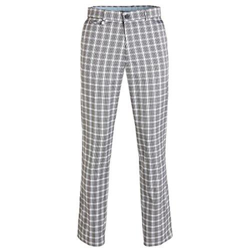 golfino-herren-karo-golfhose-in-regular-fit-wasserabweisend-grau-xxl