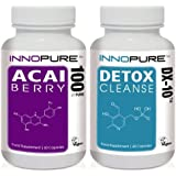 Pure Acai Berry & DX-10 Detox Cleanse Duo Pack | 1 Month Supply | Special Offer