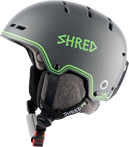 Shred Bumper NOSHOCK BIGSHOW Grey-Green Helm, M -