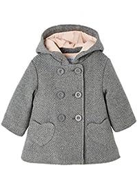 VERTBAUDET Manteau bébé fille drap de laine