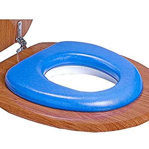 REER Soft de asiento de inodoro de alfombrilla para niños, acolchada rojo