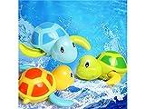 Yhcean Personale 1 PC Turtle Wound-up Chain Piccolo animale Balneazione Acqua Nuoto Giocattolo Per Neonati Neonati Bambini Bambini (colore casuale) per Casa