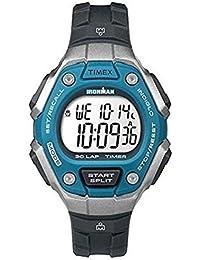 Timex Ironman Classic 30 Lap Midsize Black/Blue TW5K89300