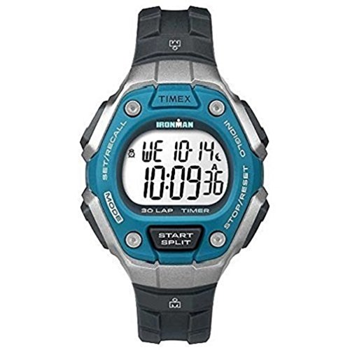 Timex Unisex Digital Quarz Uhr mit Kautschuk Armband TW5K89300