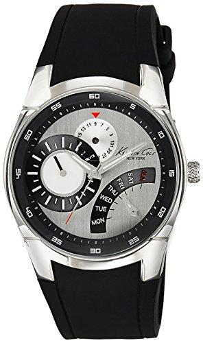 Kenneth Cole Herren-Armbanduhr XL Dress Sport Analog Silikon KC1907