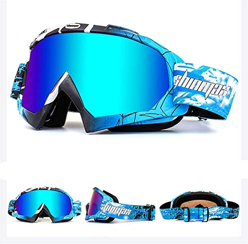 Shinmax Gafas Esquí Prueba Viento Gafas Unisex Motocross