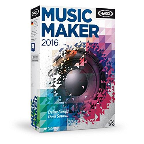 MAGIX Music Maker 2016, Das Musikprogramm für Einsteiger und Profis