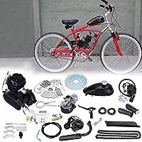 Samger Samger 2 Stroke Motor Conversion Kit Pedal Cycle Petrol Gas Motorized Engine Kit for Motorized Bike (Black, 50CC)