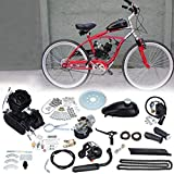 Samger Samger 2 tiempos Kit Motor de Bicicleta Gas Motor Kit de Conversión de Bicicleta (Negro, 50CC)