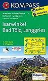KOMPASS Wanderkarte Isarwinkel - Bad Tölz - Lenggries: Wanderkarte mit Aktiv Guide, Radwegen und Skitouren. GPS-genau. 1:50000: Wandelkaart 1:50 000 (KOMPASS-Wanderkarten, Band 182)