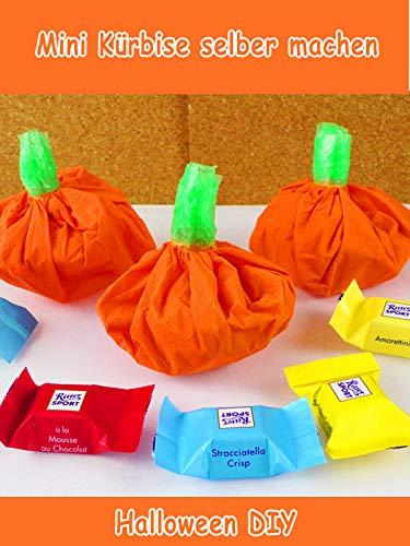 Clip: Mini Kürbise selber machen - Halloween ()