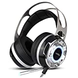 KKmoon VOTS Gaming Kopfhörer | 7.1 Virtual Surround Sound Stereo Headset | Professionelle Esport...