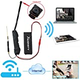 Toughsty 16GB 1280x720P HD Mini WiFi Hidden Camera Module FPV Camera Motion Activated Video Recorder DV Camcorder Support Android iPhone APP Remote View
