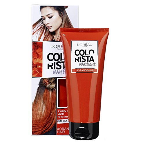 L'Oréal Paris Colorista Orange Washout 1-2 Weken Haarkleuring coloración del cabello Naranja 80 ml...