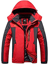 A Preuve de l'eau de la montagne Veste de plein air de matériel de Manteau a preuve de vent veste de ski de les hommes de Lega ()