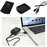 PowerSmart USB Chargeur pour Pentax WG-10, WG-3, WG-3 GPS, X70