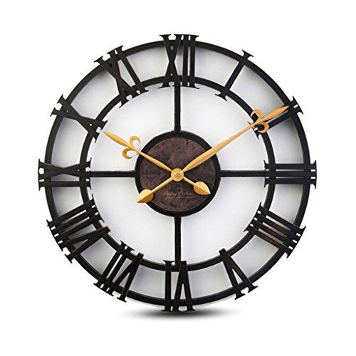 Sunjun Taschenuhr Imitation Eisen Rom Digital Uhr Europäische Stil Industrie Retro Kreative Wanduhr Wohnzimmer Schlafzimmer Uhren und Uhren -