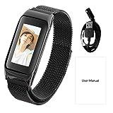 seasaleshop Fitness Armband Tracker mit Pulsmesser 0,96 Zoll Farbdisplay Fitness Uhr Armband Uhr Schlafmonitor Aktivitätstracker