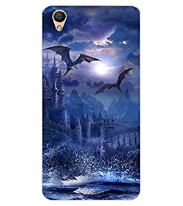 ColourCraft The Dragons Design Back Case Cover for OPPO R9