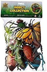 Idea Regalo - Wild Republic 64092 - Borsa con collezione di animali, insetti, 10 pezzi