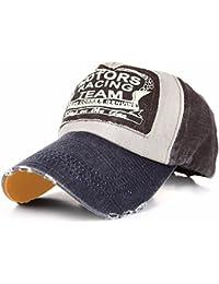 Béisbol CAP gorro sombrero gorra con visera plana A-Z hip-hop Snap Back Motors Racing Cotton Motorcycle