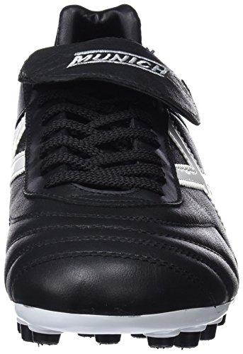Munich Unisex-Erwachsene Mundial U25 Futsalschuhe Schwarz - Noir (Noir/Blanc)