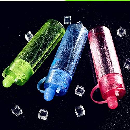 YXBB Gießkanne eisflasche Wassersport Wasser Tasse My Kettle Mug Magic Cup Summer 600ml 1