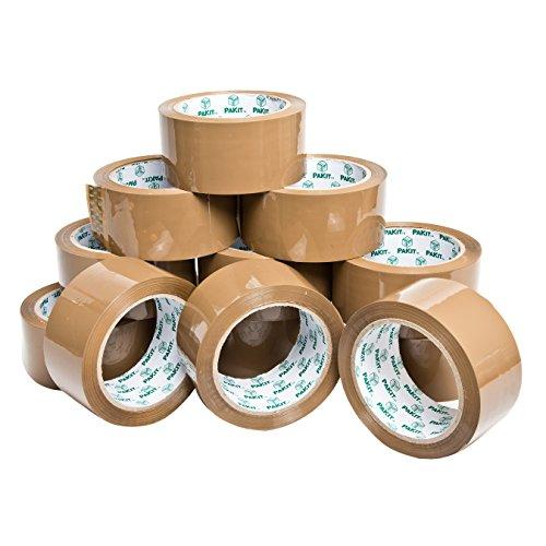 pakit-lot-de-12-rouleaux-de-ruban-adhesif-demballage-marron-48-mm-x-66-m-
