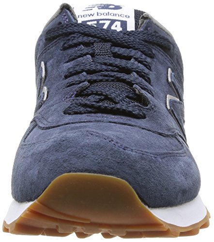 New Balance Nbml574fsn, Lifestyle 574 homme bleu (Navy Full Pigskin)