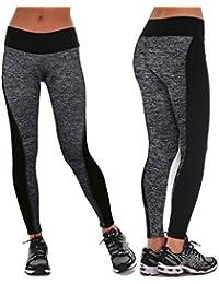 Amazon.es  Pantalones Pitillo - Leggings y medias deportivas   Ropa ... fefca6ebfc94b