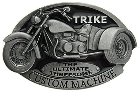 Boucle de ceinture Trike, Custom Machine en un de mes présentation en coffrets.