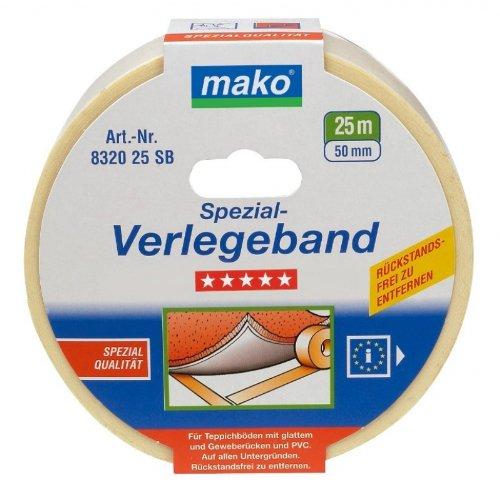 Mako Spezial-Verlegeband wieder aufnehmbar in 50 mm x 10 m