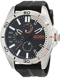 Hugo Boss Orange 1513290 - Reloj de pulsera analógico para hombre (correa de silicona, esfera con subdiales)