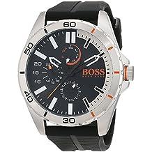 282cc01435f7 Hugo Boss Orange 1513290 - Reloj de pulsera analógico para hombre (correa  de silicona