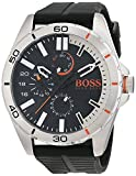 Hugo Boss Orange Herren Armbanduhr, Quarz, mehrere Zähler auf dem Zifferblatt, Silikonarmband -  1513290