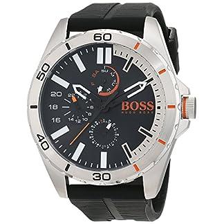 Hugo Boss Orange 1513290 – Reloj de pulsera analógico para hombre (correa de silicona, esfera con subdiales)