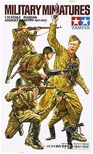 Tamiya - 35311 - Maquette - Infanterie d'assaut Russe - Echelle 1:35