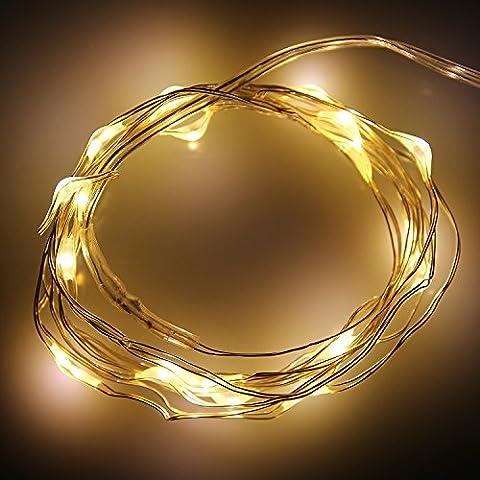 Guirlande Lumineuses Noel LED Lumières de Noël Guirlande Lumineuse Intérieur