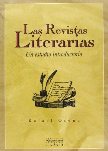 Revistas literarias, las: Un estudio introductorio
