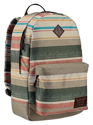 Burton unisex kettle pack daypack, unisex, kettle pack, rancher stripe print, taglia unica
