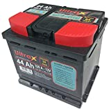 Ultrax Batteria 44 Ah Per Auto 320A 12 V 207 x 175 x h190 mm