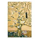 Bilderwelten Glasbild Wandbild Gustav Klimt - Der Lebensbaum 60 cm x 40 cm