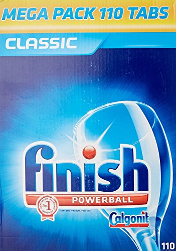Finitura classica 4002448086079Mega Pack lavastoviglie compresse, 110Tabs (4pezzi)