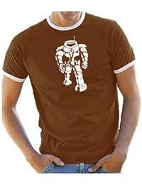 Coole-Fun-T-Shirts Big Bang Theory! Sheldon Robot Men's T-Shirt