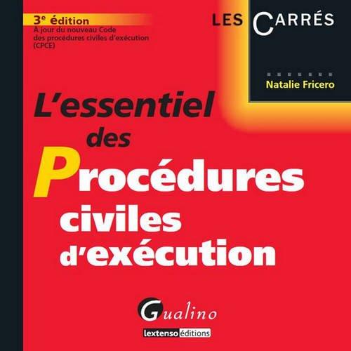 L'essentiel des procédures civiles d'éxécution