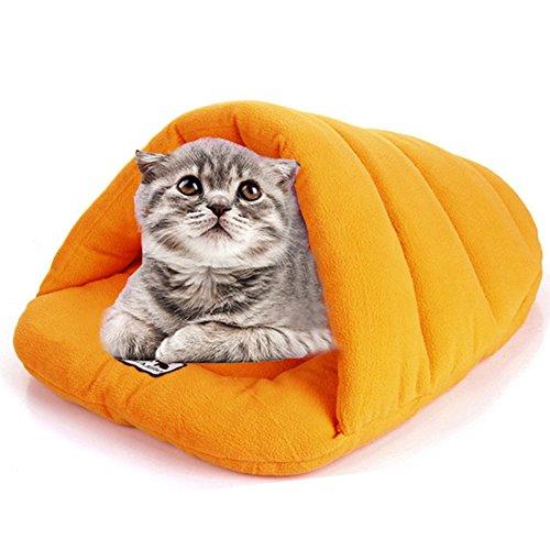 MW Pet Schlafsack, Katzen- und Hundebett, Outdoor, tragbare Abnehmbare Kennel, leicht zu reinigen non-deformed extra-soft Sofa-Kissen, für kleine Hunde und Katzen
