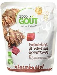 Good Goût Bio Parmentier de Bœuf aux Topinambours dès 12 Mois 220 g