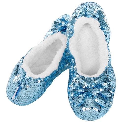 Snoozies - Zapatillas de estar por casa para mujer azul azul 5 UK sjqZvsc