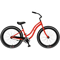 Bicicleta Sun Baja Cruz Lady roja CB